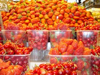 La Boqueria Strawberries