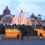 barcelona travel guide - magic fountains