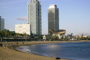 Barcelona beaches and barrios
